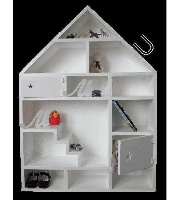 """Напольный кукольный домик для книг и грушек """"Кантабрия"""""""