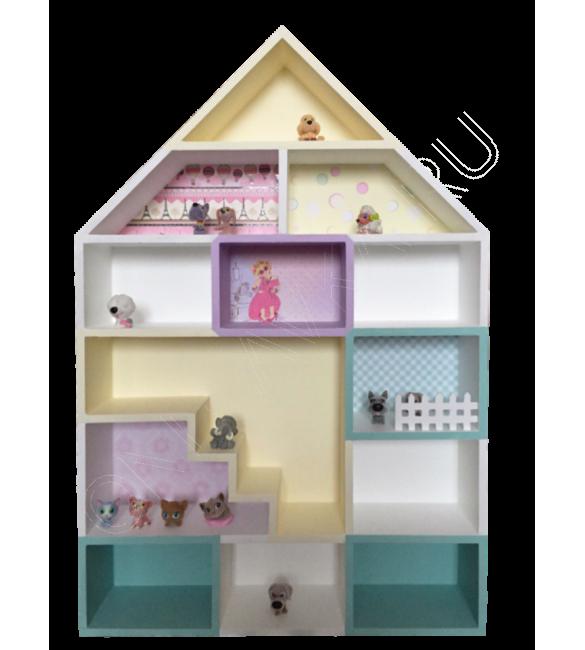 """Навесной кукольный домик """"Генуя"""""""