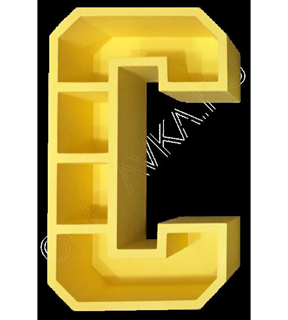 Полка-буква С