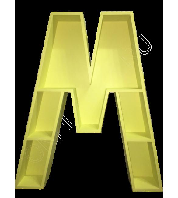 Полка-буква М