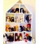 Кукольный домик-полка для книг и игрушек «Галисия»